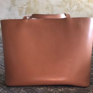 Beautiful, leather, tote from Kate spade.